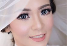 Clear Makeup Look For Bride by StevOrlando.makeup
