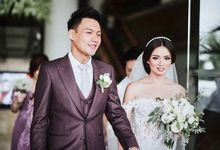 Wedding of Fendy & Stella by Flora Cordis