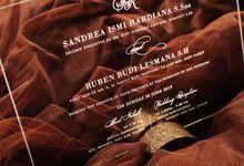 Sandrea & Ruben by Vinas Invitation