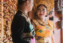 Yoga & Ratih Balinese Wedding by Lentera Wedding