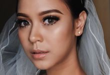 Wedding makeup for Ms Sofia by Rere Hou Make-Up Art