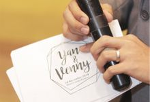 Yan & Venny Wedding Day by Vedie Budiman