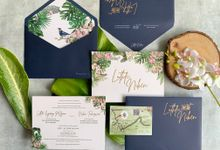 Tropical Paradise by Trouvaille Invitation
