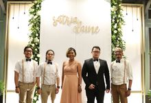 Satria & Elaine Wedding by KEYS Entertainment