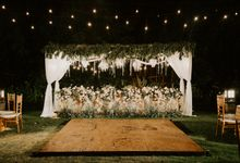 Natas & Widiyan at Villa impiana Cemagi by Cloris Decoration & Planner