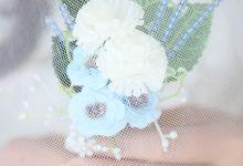 Artificial Corsage & Boutonniere by raia_fleurs