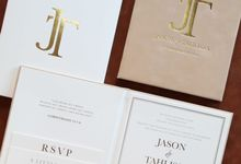 Jason & Tahlissa by Vinas Invitation