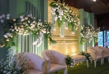 Intimate Wedding Difa & Arif by Garis Decoration