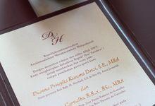 Dianna & Hugo by Vinas Invitation