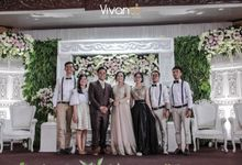 The Wedding of Citra and Galih by Vivando Music Entertainment