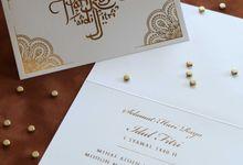 Kartu ucapan Lebaran by Vinas Invitation