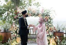 The Wedding of Riyanti & Eksan by Avinci wedding planner