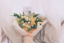 Hand Bouquet by Lacey Florist