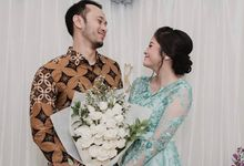 AGNES & ADITYA ENGAGEMENT by Ink Seserahan