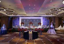 Indoor Wedding at Grand Harmony Ballroom - Holiday Inn & Suites Jakarta Gajah Mada by Holiday Inn & Suites Jakarta Gajah Mada