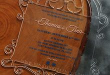 Thomas & Tina by Vinas Invitation