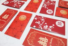 Wedding Angpao Red Shuangxi by Piece Of Paper
