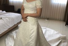 Wedding Gown for Mrs Santi by Deasy Marlina