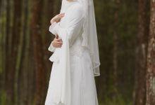 Akad Hijrah Series 04 Busana Syari Akad by LAKSMI - Kebaya Muslimah & Islamic Bride