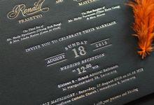 Ronald & Deva by Vinas Invitation