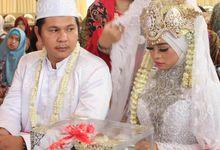 pernikahan nuansa rumah by Rotlicht fotografer - videografer