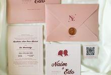From the wedding of Naim & Edo by Moria Invitation