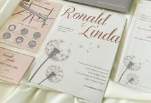 From the wedding of Ronald & Linda by Moria Invitation