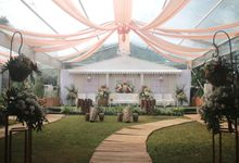 The Wedding of Intan & Fazrin by Decor Everywhere