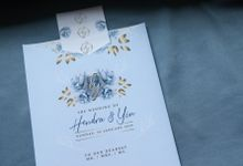Hendra & Yin Wedding Invitation by Sweet Memoire