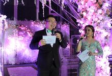 Wedding MC for Tony and Felicia by JIMMY & LIECHEN MC and Magician Wedding Specialist