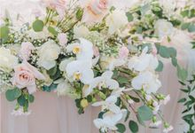Anni & Bilson Elegant Beach-front Wedding at Phalosa Villa Bali by Silverdust Decoration