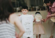 The Beautiful Classic White Wedding by Memoir Paperie