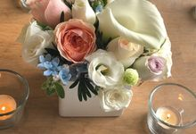 Calla Lily Table Decor by The Green Room