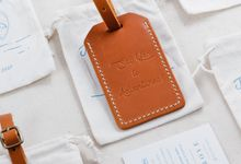 Jason & Nikki - Luggage Tag by Rove Gift