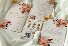 From the wedding of Ziyad & Nazil by Moria Invitation