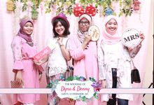 Dyna&Denny Photobooth Wedding Unlimited 4 hours by Kece Photobooth