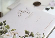 ALVRED & VIRA BALI WEDDING by Mille Paperie
