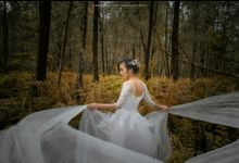 Forest Bridal Photoshoot by Stephy Ng Makeup and Hair