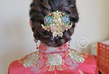 Korean Soong Traditional Wedding Day by Stephy Ng Makeup and Hair