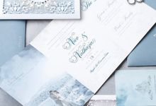 Timeless Ice Wedding Invitation by Jessica Patricia