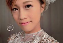 Mat Vintage Bridal Makeup by Stephy Ng Makeup and Hair