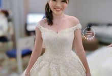 Mei  Mei Wedding Day by Stephy Ng Makeup and Hair