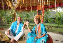Margarita and Aleksei Wedding Blessing Ceremony by Fivelements Bali Retreat