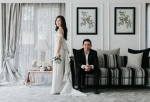 Oddysius & Kellyn Prewedding at Jakarta by Lumilo Photography