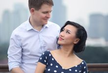 Train Station Prewedding by Warna Project