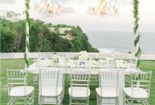 WHITE DECOR by Bali Wedding Production