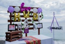 Purple Wedding Setup by Sudamala Resorts