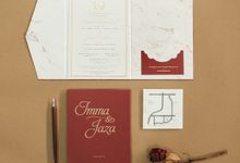 Imma & Jaza by Meltiq Invitation
