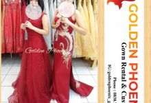Golden Phoenix Sangjit / Engagement Dress Gaun by Golden Phoenix Rent Gown