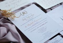Ardy & Elizabeth by Meltiq Invitation